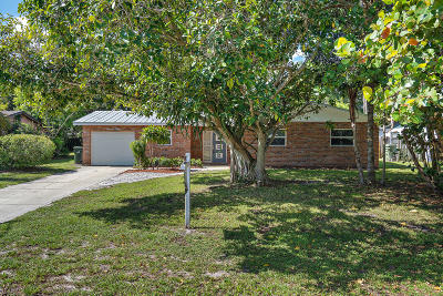 Stuart Single Family Home For Sale: 1140 E 12th Street