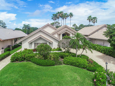 Palm Beach Gardens Single Family Home For Sale: 13813 Rivoli Drive