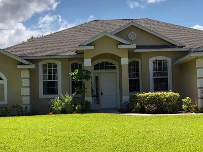 Port Saint Lucie Single Family Home For Sale: 1920 SW Americana Street