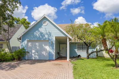 Lake Worth Single Family Home For Sale: 2830 Black Pine Court