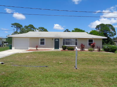 Port Saint Lucie Single Family Home For Sale: 2349 SW Cooper Lane