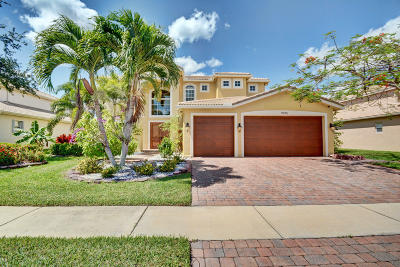 Lake Worth Single Family Home For Sale: 9945 Via Bernini