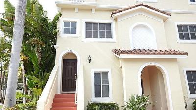 Boynton Beach Rental For Rent: 521 Bayfront Drive #521