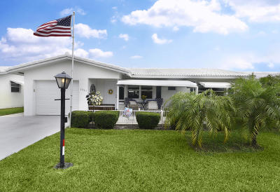 Boynton Beach Single Family Home For Sale: 2085 SW 14th Avenue