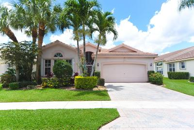 Delray Beach Single Family Home For Sale: 13589 Morocca Lake Lane