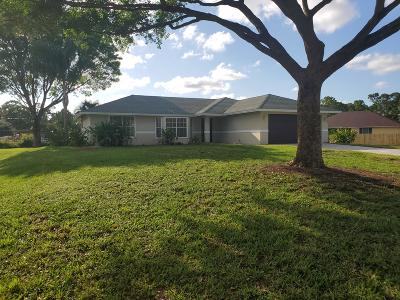 West Palm Beach Single Family Home For Sale: 8557 Avocado Boulevard