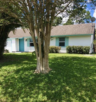 Port Saint Lucie Single Family Home For Sale: 2394 SW Cooper Lane