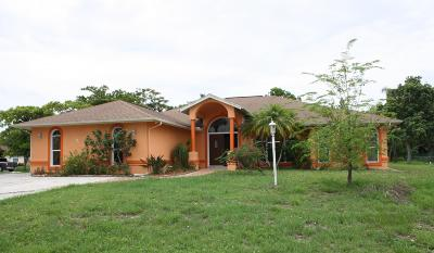 Port Saint Lucie Single Family Home For Sale: 674 SW Montana Terrace SW