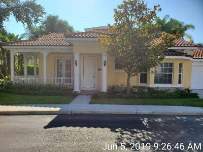 Jupiter Single Family Home For Sale: 140 Mangrove Bay Way