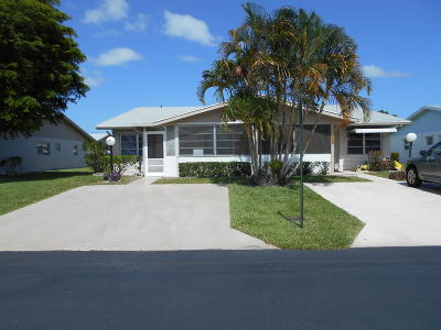West Palm Beach Single Family Home For Sale: 3464 Rossi Court