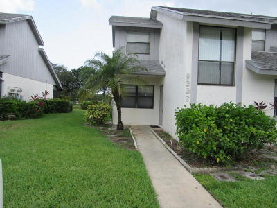 Boca Raton Rental For Rent: 9332 Ketay Circle #1