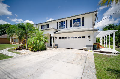 Port Saint Lucie Single Family Home For Sale: 4174 SW Belshaw Street