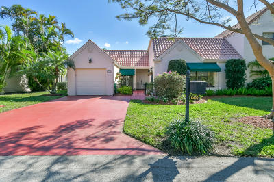 Boca Raton Single Family Home For Sale: 6482 Las Flores Drive