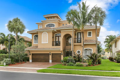 Boynton Beach Single Family Home For Sale: 9742 Coronado Lake Drive