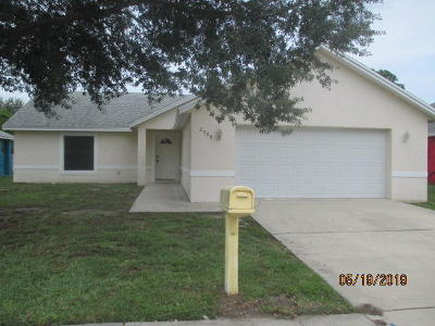 Fort Pierce Single Family Home For Sale: 2908 Zora Neale Drive