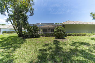 Palm Beach Gardens Townhouse For Sale: 11404 Myrtle Oak Court