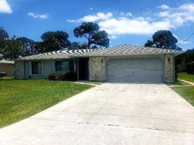 Port Saint Lucie Single Family Home For Sale: 2433 SE Hallahan Street
