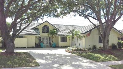 Jupiter Single Family Home For Sale: 110 Coco Lane