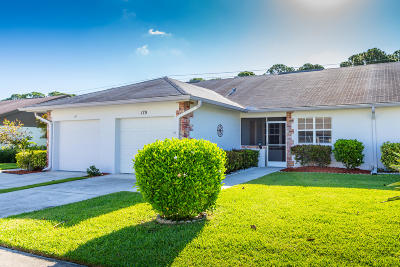 Jupiter Single Family Home For Sale: 179 Bent Arrow Drive