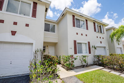 Deerfield Beach Townhouse For Sale: 778 NW 42nd Place