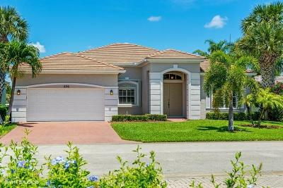 Port Saint Lucie Single Family Home For Sale: 526 SW Lake Manatee Way
