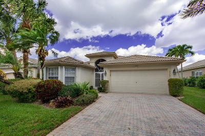 Boynton Beach Single Family Home For Sale: 7567 San Pedro Street