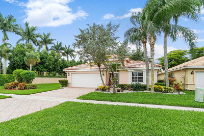 Boynton Beach Single Family Home For Sale: 7276 Lugano Drive