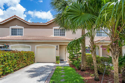 Boynton Beach Townhouse For Sale: 6651 Old Farm Trail