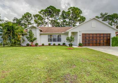 Port Saint Lucie FL Single Family Home For Sale: $211,000