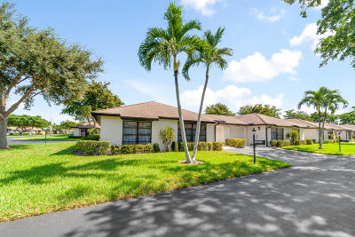 Boynton Beach Single Family Home For Sale: 4869 Equestrian Road #A