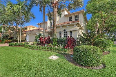 Palm Beach Gardens Single Family Home For Sale: 126 Sunesta Cove Drive