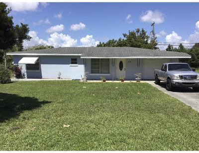 Jensen Beach Single Family Home For Sale: 3564 NE Sandra Drive