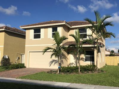 Greenacres Single Family Home For Sale: 3914 La Rambla