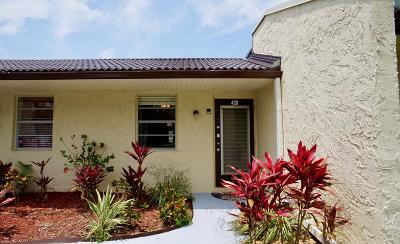 West Palm Beach Single Family Home For Sale: 439 Golden River Drive #4390