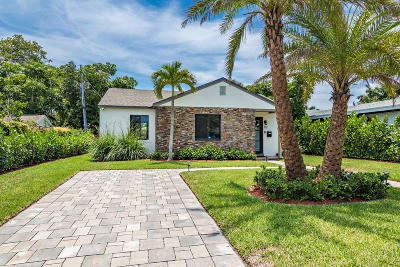 West Palm Beach Single Family Home For Sale: 212 Cortez Road