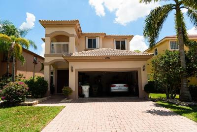 Coconut Creek Single Family Home For Sale: 4920 Cypress Lane