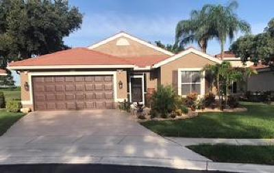 Lake Worth Single Family Home For Sale: 6316 Grand Cypress Circle