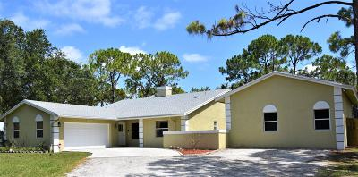 West Palm Beach Single Family Home For Sale: 11512 68th Street