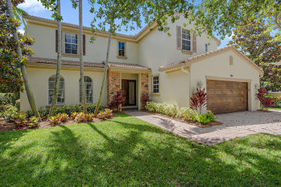 Palm Beach Gardens Single Family Home For Sale: 934 Mill Creek Drive