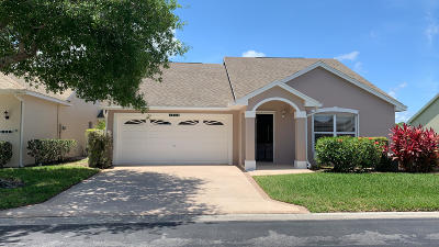 Saint Lucie West Single Family Home For Sale: 1045 NW Tuscany Drive NW