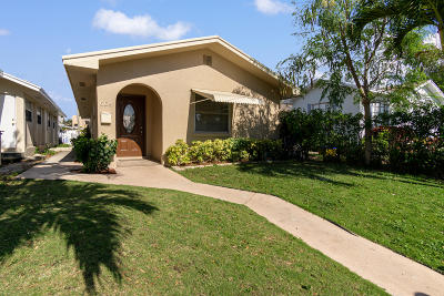 Lake Worth Single Family Home For Sale: 605 L Street