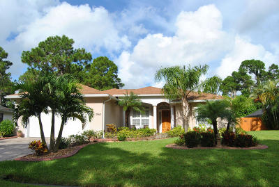 Port Saint Lucie Single Family Home For Sale: 2862 SW Giralda Street