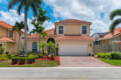 Boynton Beach Single Family Home For Sale: 4898 Gateway Gardens Drive