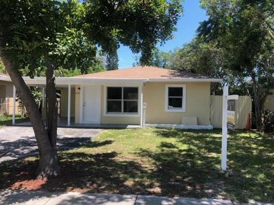 West Palm Beach Single Family Home For Sale: 615 46 Th Street