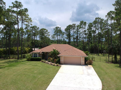 Loxahatchee Single Family Home For Sale: 16216 89th Place