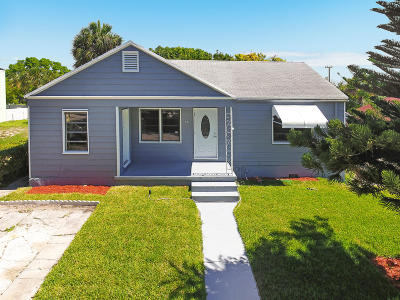 West Palm Beach Single Family Home For Sale: 821 39th Court
