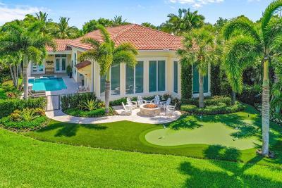 Jupiter Single Family Home For Sale: 122 Regatta Drive