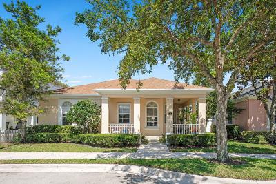 Jupiter Single Family Home For Sale: 111 Milbridge Drive