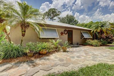 Fort Pierce Single Family Home For Sale: 6105 Yucca Drive