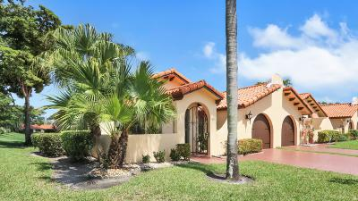 Delray Beach Townhouse For Sale: 5329 Bolero Circle